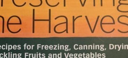 Preserving the Harvest: A Book Recommendation for the CSA Membership